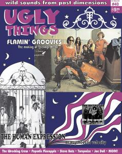 Ugly Things #40 - Flaming Groovies, Wrecking Crew, more!