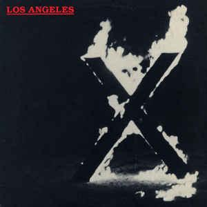 X - Los Angeles lp (Porterhouse)