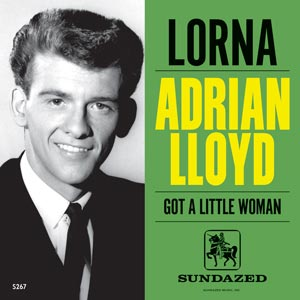 Adrian Lloyd - Lorna 7' (Sundazed) 2013 Record Store Day
