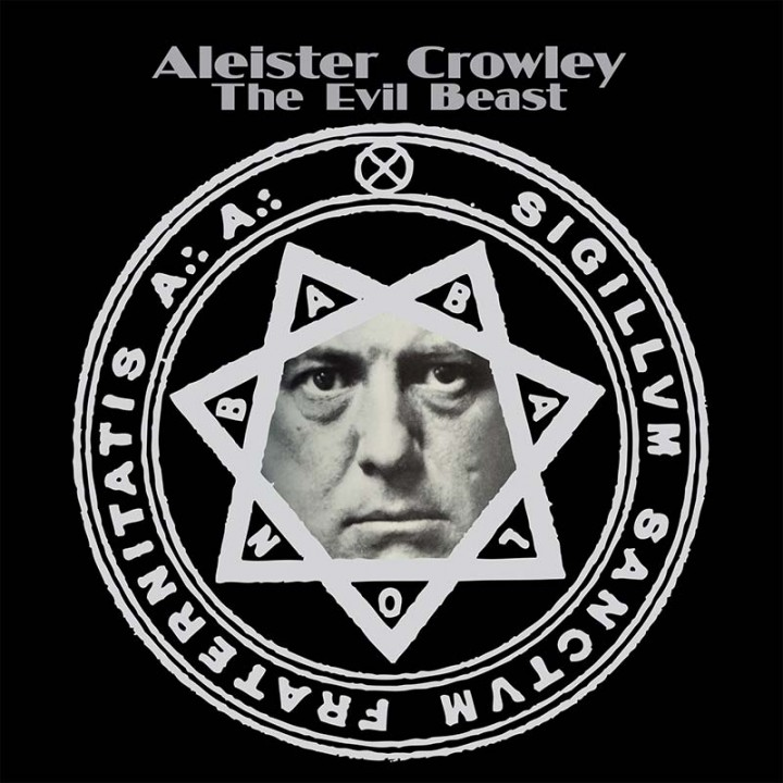 Aleister Crowley - The Evil Beast lp (Cleopatra Records)