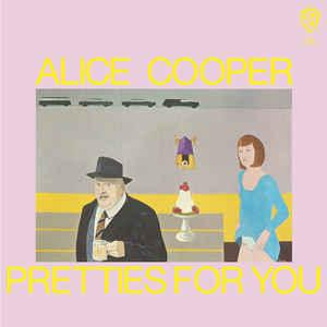 Alice Cooper - Pretties for You lp (Warner Bros/Rhino)