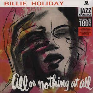 Billie Holiday - All Or Nothing At All lp (Waxtime)