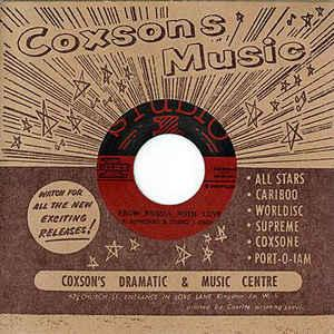 "R. Alphonso & Studio 1 Orchestra - From Russia With Love 7"" (Dub"