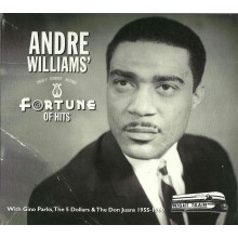 Andre Williams - A Fortune of Hits dbl cd (Night Train)