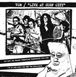 "Vom - Live At Surf City 7"" B & W Cover (White Noise/Rerun)"