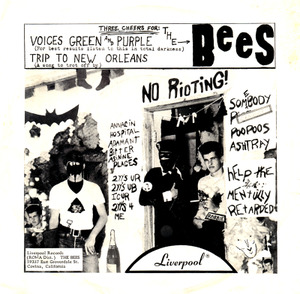 "Bees - Voices Green and Purple 7"" (Ugly Things)"