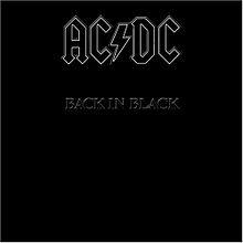 AC/DC - Back In Black lp (Columbia)