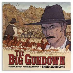 Ennio Morricone - The Big Gundown dbl lp (Mondo/Grindhouse)