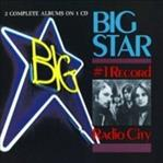 Big Star - #1 Record / Radio City cd (Ardent/Fantasy)