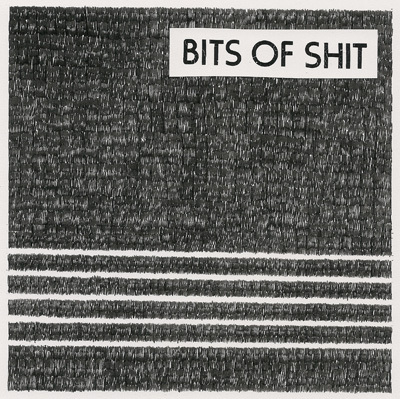 "Bits of Shit - Meat Thump 7"" (Total Punk Records)"