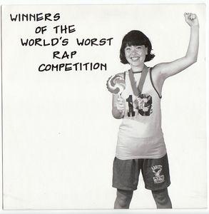 "Black Tea - Winners Of The World's Worst Rap 7"" (Teach Records)"