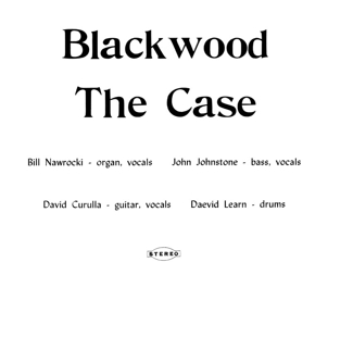 The Case - Blackwood lp (Lion Productions)