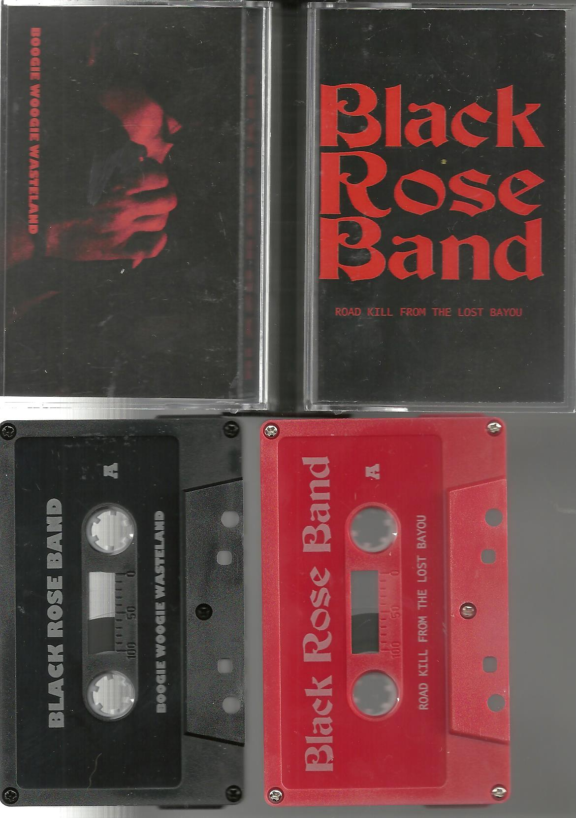 Black Rose Band dbl cassette (No Label)