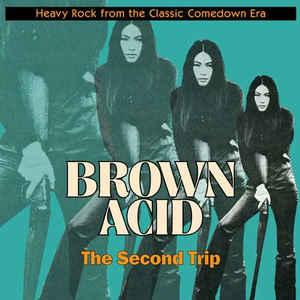 Brown Acid - The Second Trip lp (RidingEasy)