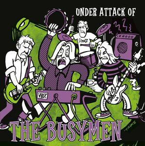 "The Busymen - Under Attack of ... 10"" (Swashbuckling Hobo)"