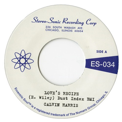 "Calvin Harris - Love's Recipe 7"" (Numero)"