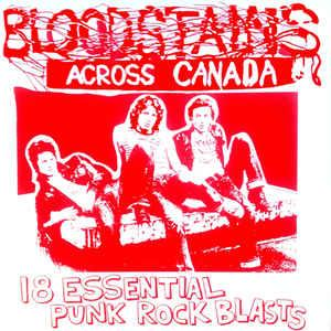 Bloodstains Across Canada lp (No Label)