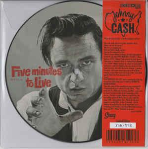 "Johnny Cash - 5 Minutes to Live 7"" (Norton)"