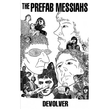 Prefab Messiahs - Devolve cassette (Burger Records)