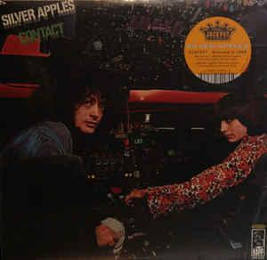 Silver Apples - Contact lp (Universal/ Jackpot)