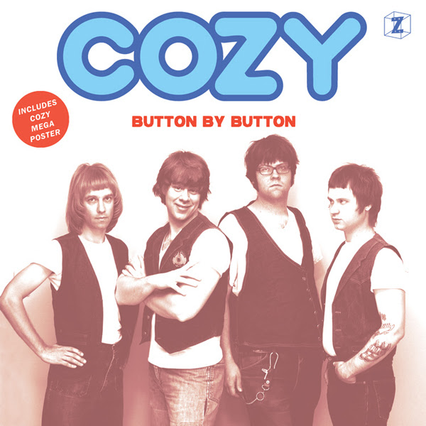 Cozy - Button By Button lp (Hozac Records)