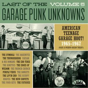 Last of the Garage Punk Unknowns - Vol. 5 lp (Crypt)