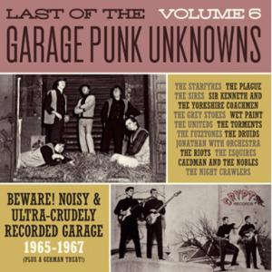 Last of the Garage Punk Unknowns - Vol. 6 lp (Crypt)