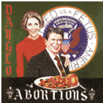 Dayglo Abortions - Feed Us Fetus lp (Unrest Records)