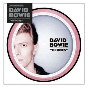"David Bowie - Heroes 7"" picture disc (Parlophone)"