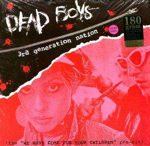 Dead Boys - 3rd Generation Nation LP (Bad Boy Recs)