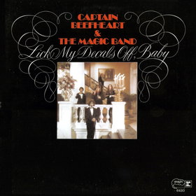 Captain Beefheart - Lick My Decals Off,Baby lp (Reprise/Scorpio)