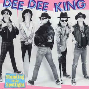 Dee Dee King - Standing in the Spotlight lp (Rhino)