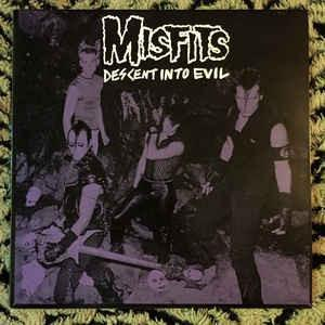 "Misfits - Descent Into Evil lp (""Plan 9"")"