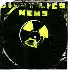 "News - Dirty Lies/Chop Chop Chop 7"" (No Label)"