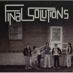 Final Solutions - Disco Eraser lp (Misprint Records)