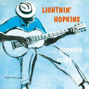 Lightnin' Hopkins - Country Blues lp (DOL)