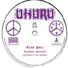 "Winston Jarrett - Wise man 10"" (Pressure Sounds)"