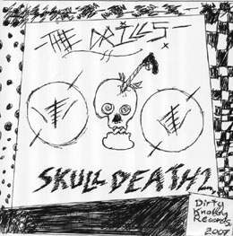 "Drills - Skull Death 2 7"" (Dirty Knobby Records)"