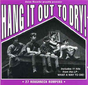 Hang It Out To Dry lp (Satan Records)