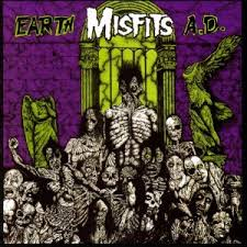 Misfits - Earth A.D. lp (Plan 9/Caroline)