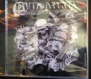 Evil Army - Command Attack and Destroy cd (No Label)