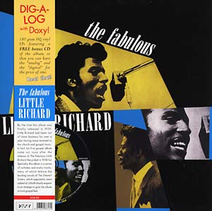 Little Richard - The Fabulous lp + cd (Doxy)