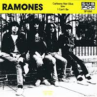 "Ramones - Carbona Not Glue/I Can't Be 7"" (""Fan Club"")"