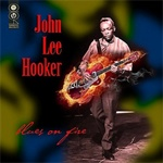John Lee Hooker - Blues On Fire lp (Goldenlane Records)