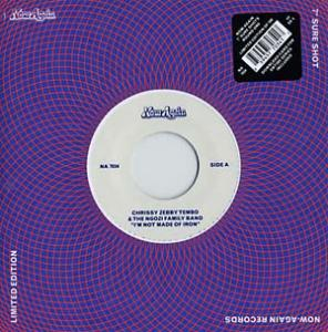 "Tembo, Chrissy Zebby - I'm Not Made of Iron 7"" (Now-Again)"