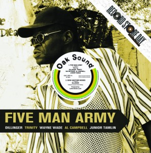 "Dillinger - Five Man Army 12"" (King Spinna)"