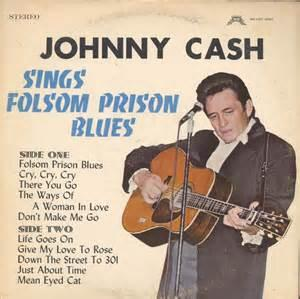 Johnny Cash - Sings Folsom Prison Blues lp (Doxy)