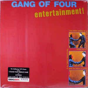 Gang of Four - Entertainment lp (Rhino/WB)