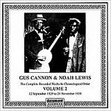 Gus Cannon & Noah Lewis - Volume 2 cd (Document)