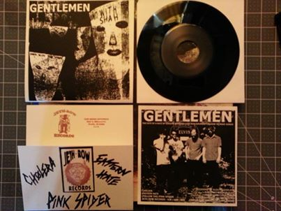 "Gentlemen - s/t 7"" (Jeth-Row Records)"